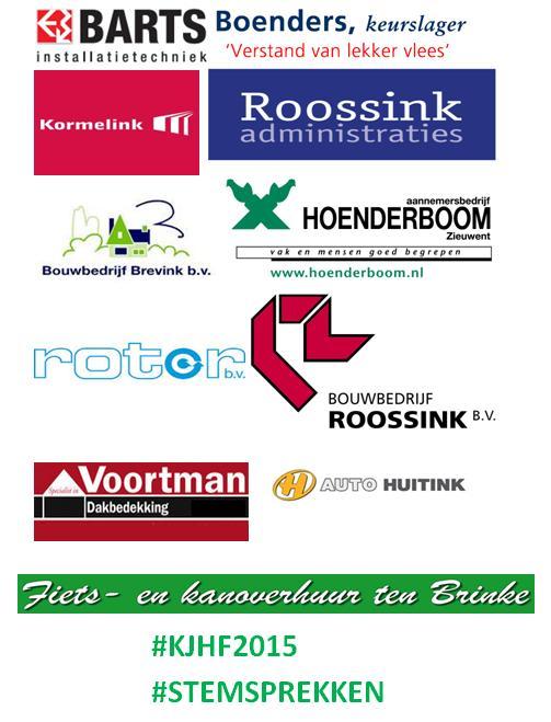 bedrijven steunen sportclub Rekken